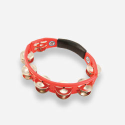 LP151 - LP® Cyclops Handheld Tambourine Red - Steel