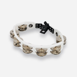 LP162 - LP® Cyclops Mountable Tambourine White - Steel