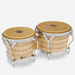 LP201A-2 - LP® Generation II Bongos with Traditional Rims