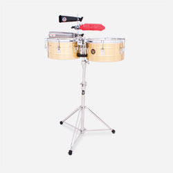 "LP255 - LP® Tito Puente  12"" and 13"" Timbales"