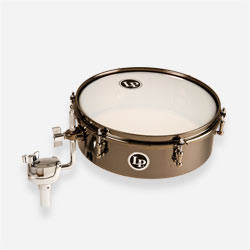 "LP812-BN - LP® 12"" Drum Set Black Nickel Timbale"