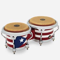 LPM199-PR - LP® Puerto Rican Mini Tunable Bongos
