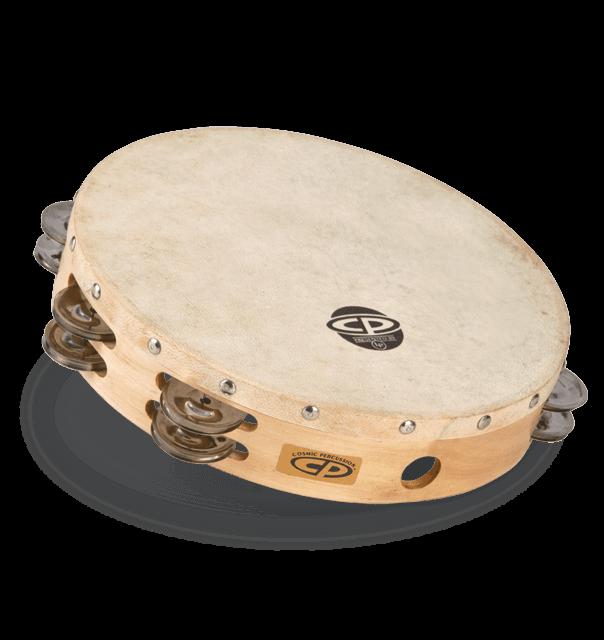 cp 10quot tambourine with head latin percussion174