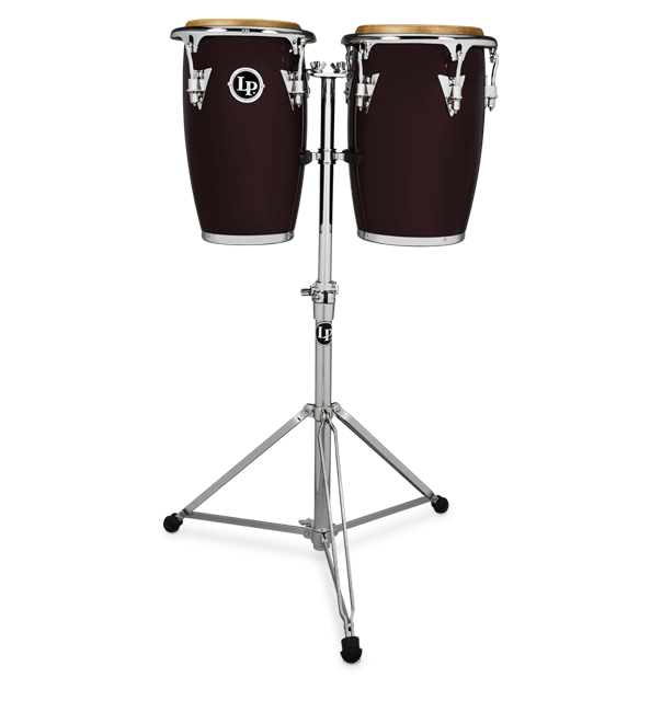 LP-JRX-DW - LP® JUNIOR WOOD CONGA SET WINE RED