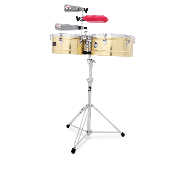 "LP1314-B - LP® Prestige  13"" and 14"" Timbales - Brass"