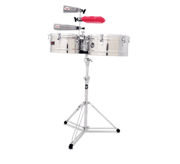 "LP1314-S - LP® Prestige  13"" and 14"" Timbales - Stainless"