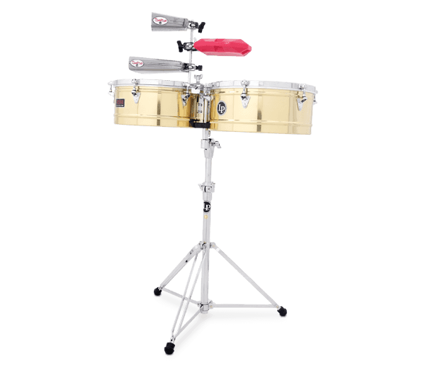 "LP1415B - LP® Prestige  14"" and 15"" Timbales - Brass"