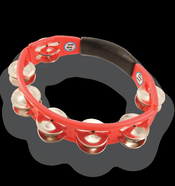 LP151 - LP® Cyclops Handheld Tambourine Red - Steel