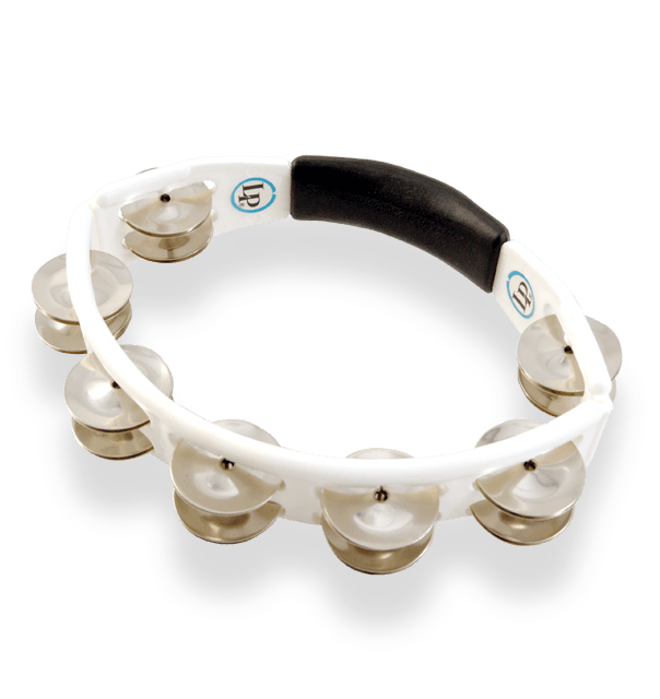 LP152 - LP® Cyclops Handheld Tambourine White - Steel