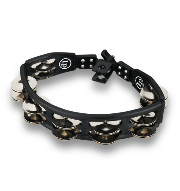 LP160 - LP® Cyclops Mountable Tambourine Black - Steel