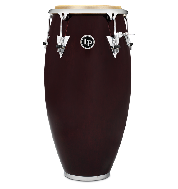 LP559X-DW - LP® CLASSIC SERIES WOOD CONGA  WINE RED/CHROME