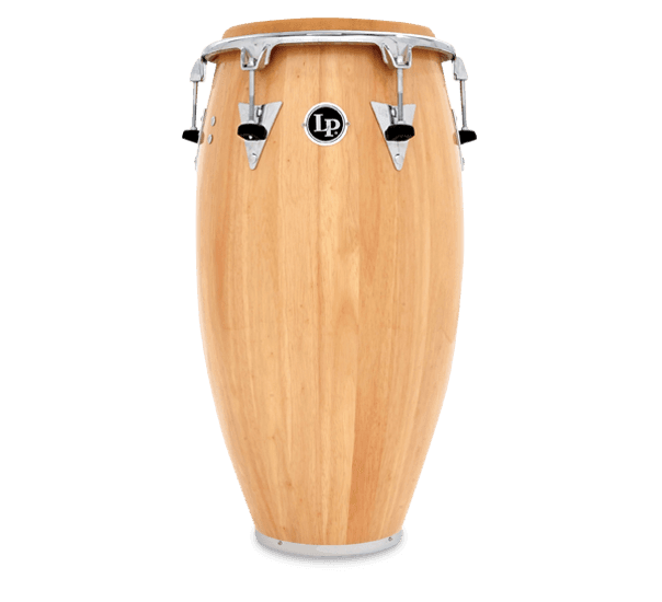 LP559T-AWC- LP® CLASSIC TOP TUNING WOOD CONGA NATURAL/CHROME