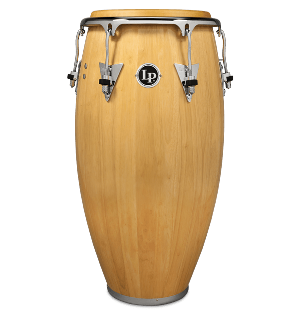 LP559X-AWC - LP® CLASSIC SERIES WOOD CONGA  NATURAL/CHROME