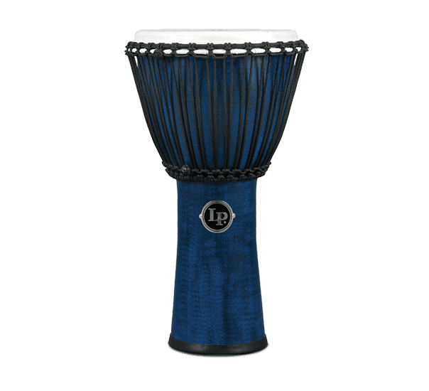 "LP724B - LP® WORLD BEAT FX 11"" ROPE TUNED DJEMBE BLUE"