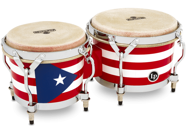 Matador 174 Puerto Rican Wood Bongo Latin Percussion 174