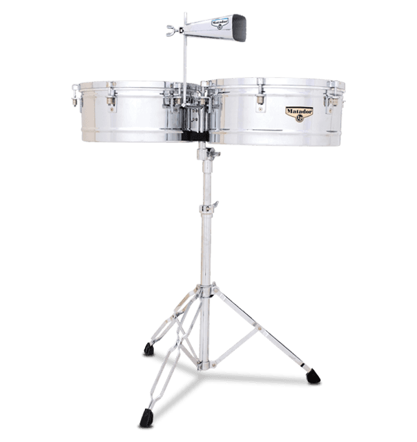 "M257 - LP® Matador® 14"" and 15"" Timbales"
